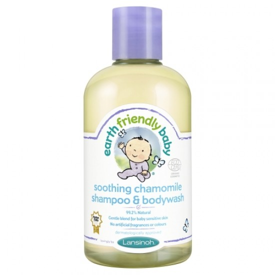 Sampon si gel de dus musetel- Earth Friendly Baby