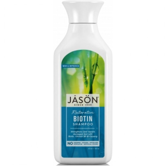 Sampon  cu biotina - intarire fire despicate-473 ml-Jason